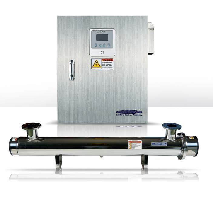 Infralight UV disinfection systems
