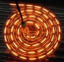 Spiral infrared emitters